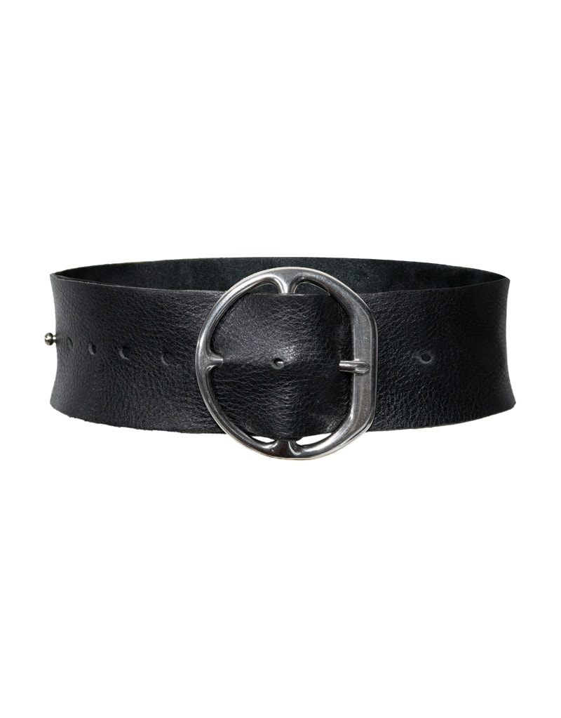 CANDICE CUOCO's MARTINA Leather Belt - Front